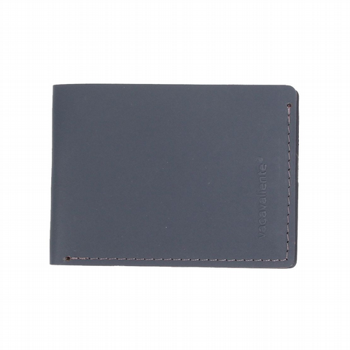 Recycled Leather - Timeless Wallet - Petrol